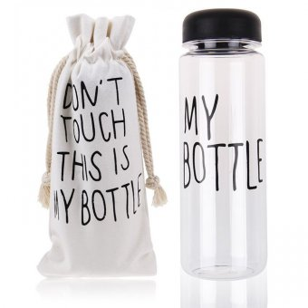 Бутылка This is my Bottle чёрная